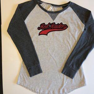 Texas Tech l Raglan T-shirt l Size L